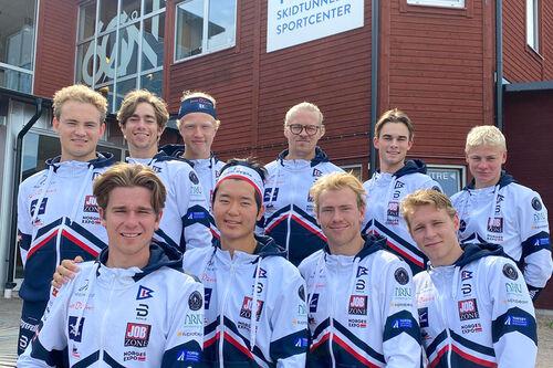 Team Bygdø for sesongen 2020/2021. Foto: Team Bygdø.
