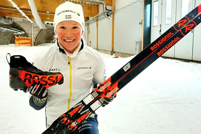 Jonna Sundling har inngått ski- og skoavtale med Rossignol.