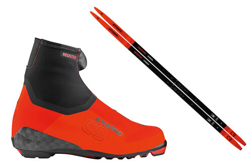 Ski og skisko i kategorien Atomic Redster.