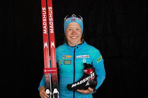 Helene Marie Fossesholm har inngått langsiktig avtale med Madshus. Foto: Stefano Zatta / Madshus.