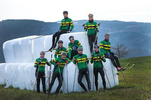 Team NTNUI Sweco sesongen 2020-2021. Foto: Gudmund Toverud Høglund.
