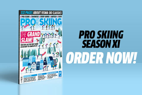 Forsiden til Pro Skiing 2021. Foto: Visma Ski Classics.