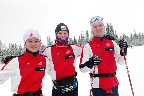 Skiløpere ved NTG Lillehammer har kort vei til snøsikre områder og lang vinter. Foto: NTG Lillehammer.