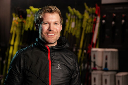 Lars Litlere er daglig leder hos Milslukern Sport. Foto: Milslukern / Erik Odiin.