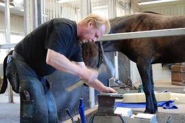 Jan Hagengen vil bli dypt savnet på Norsk Hestesenter, både som kollega og fagmann.