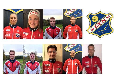 Løpere fra Lyn Ski Moseteråsen som er påmeldt til langløpscupen Ski Classics.