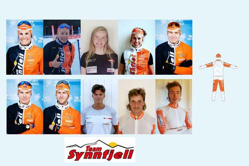 Team Synnfjell Langløpslag sesongen 2020-2021.
