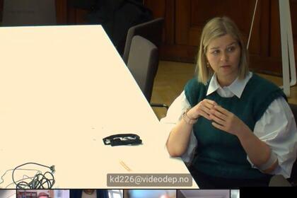MØTTE FUG: Kunnskapsminister Guri Melby møtte FUG til digital sammenkomst.