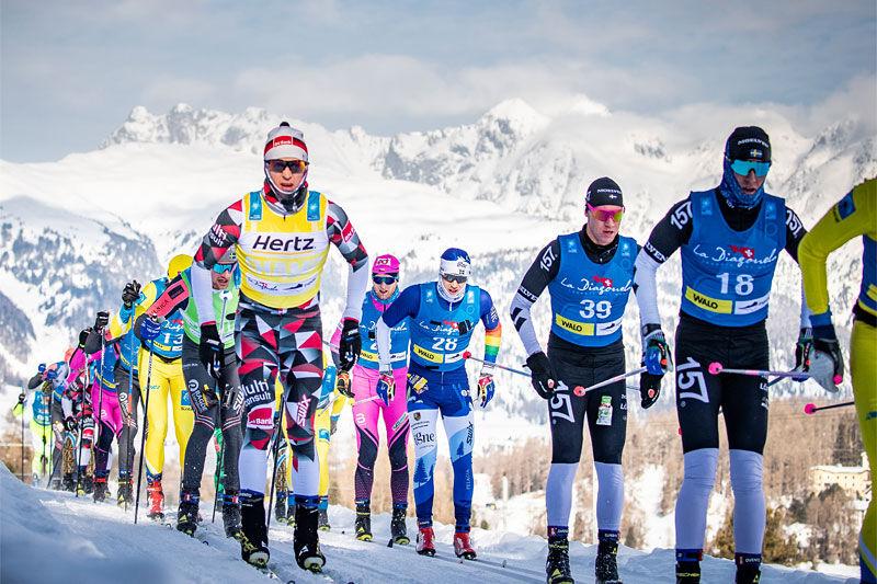 La Diagonela som inngår i Ski Classics. Foto: Modica/NordicFocus.