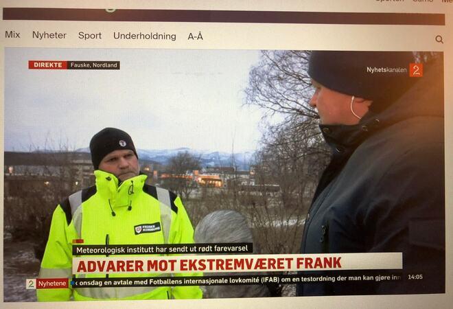 Trond Heimtun intervjues av Tv2