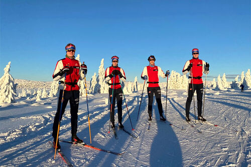 Skiløpere ved NTG Lillehammer har kort vei til innbydende og snøsikre områder og lang vinter. Foto: NTG Lillehammer.
