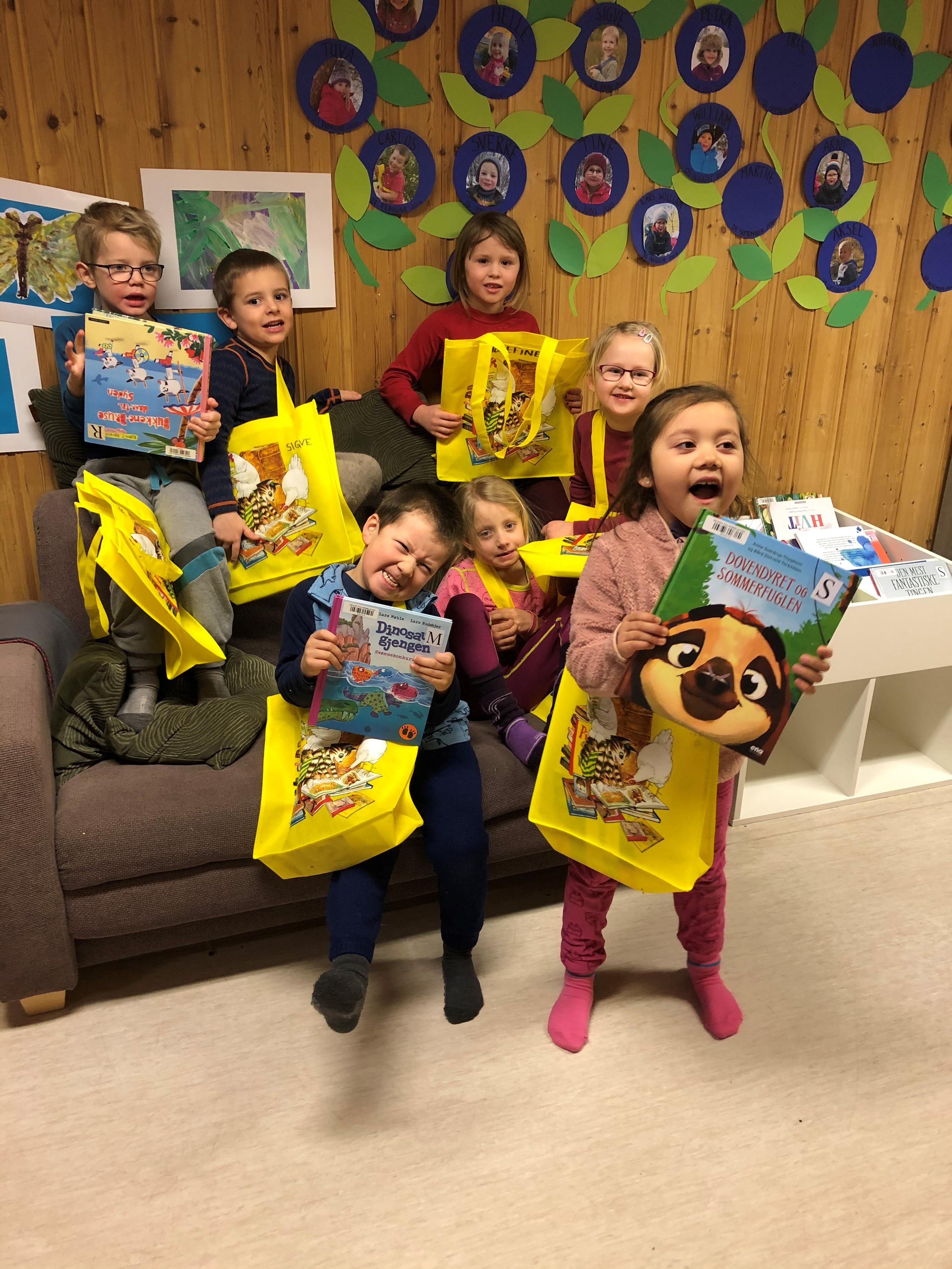 Åpning barnehagebiblioteket Tollå