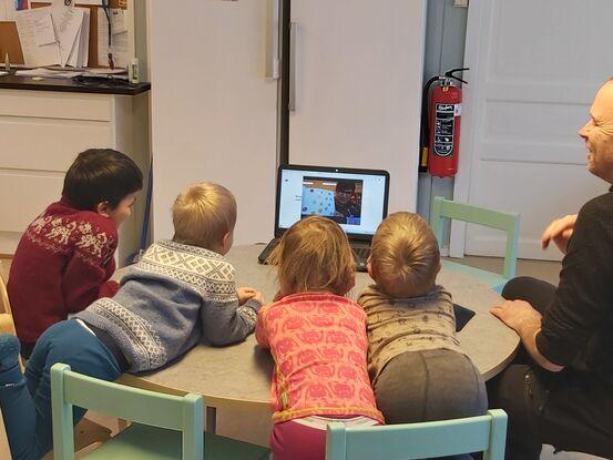 Åpning barnehagebiblioteket Moldjord