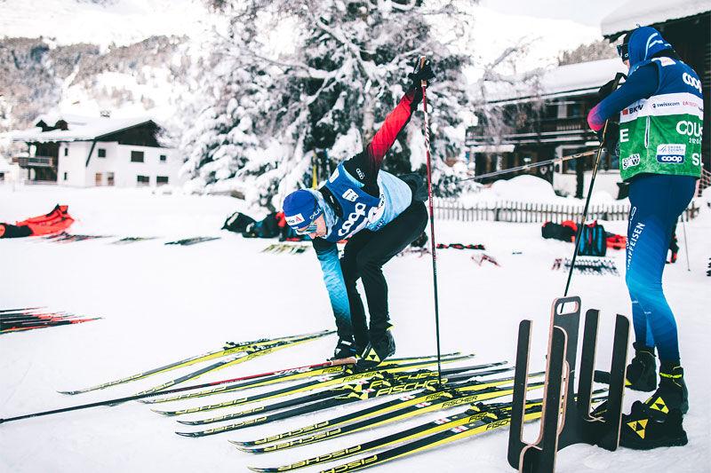 Skitesting under verdenscupen i langrenn. Foto: Modica/NordicFocus.