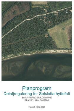 forside solsletta planprogram