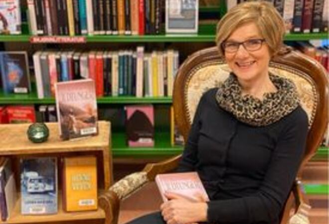 Forfatter Elin Hansen - høytlesning Fauske bibliotek