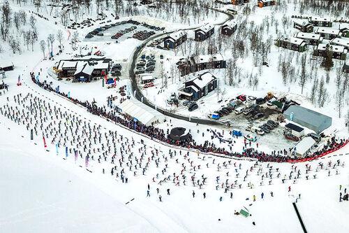 Starten i Kobberløpet. Foto: Anders Lea Karlskås / KSTUDIOS.