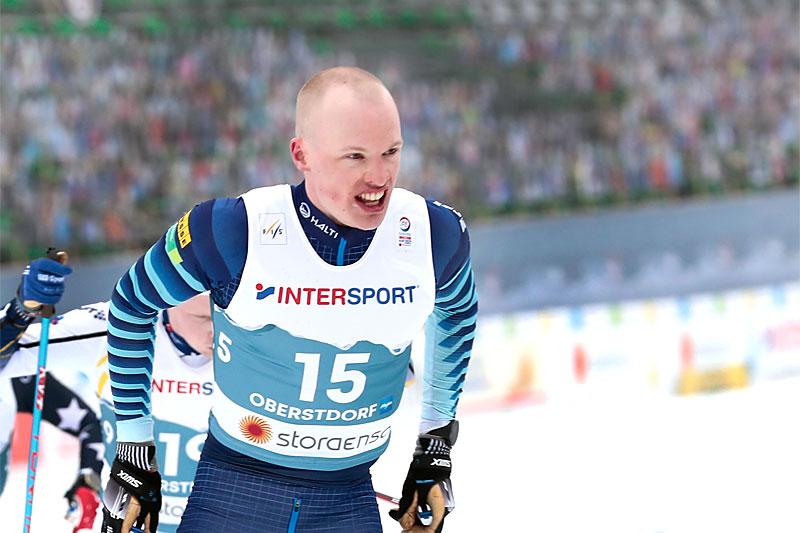 Iivo Niskanen. Foto: Modica/NordicFocus.