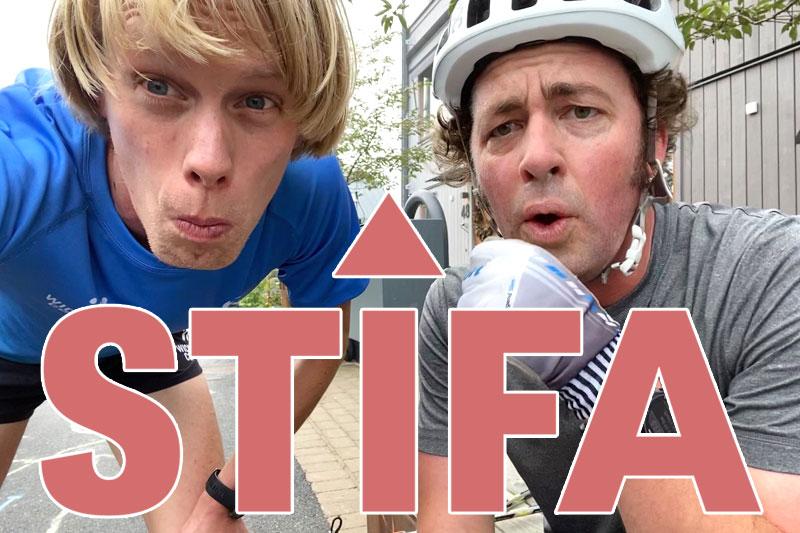 Erik Wickström og Niklas Bergh som driver podcasten Lagom Kondition har etablert begrepet STIFA som faktor for å vise stigning i konkurranser og løyper.