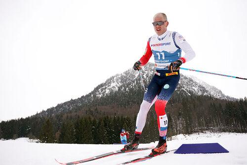Pål Golberg ute på 5-mila under VM i Oberstdorf 2021. Foto: Thibaut/NordicFocus.