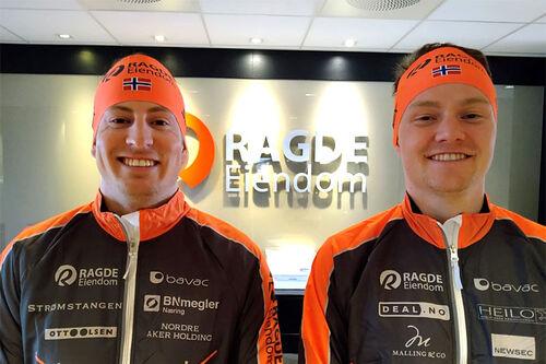 Kasper Stadaas og Johan Hoel har signert for Team Ragde Eiendom i overgangen mellom sesongen 2020/2021 og 2021/2022. Teamfoto.