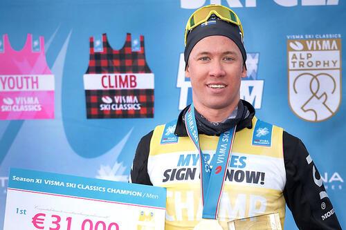 Emil Persson. Foto: Magnus Östh / Visma Ski Classics / NordicFocus.