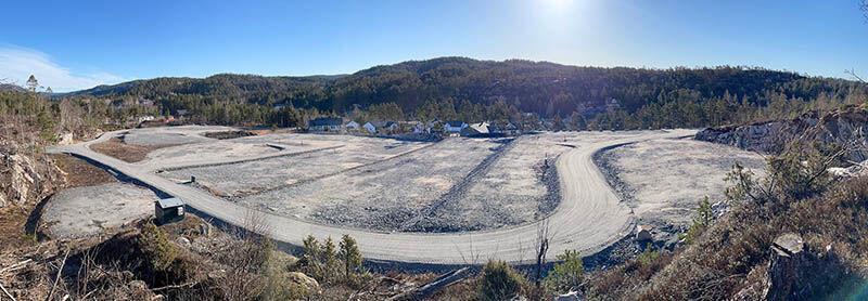 Bjørnehatten området panorama