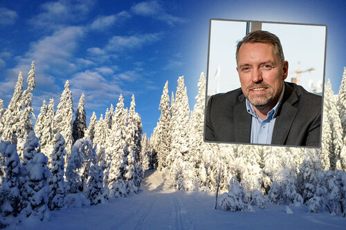 Frode Kjetil Andersen. Foto: Privat portrett og landskapsbilde av Kirsti Kringhaug / Langrenn.com.