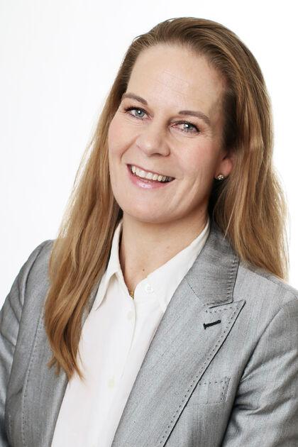 Bildet er et portrett av Ragnhild Collett-Hanssen