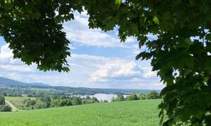 Bildet viser Randsfjorden