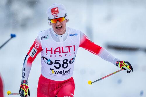 Iver Tildheim Andersen inn til bronsemedalje under U23-VM i Vuokatti 2021. Foto: Tomi Mäkipää / Loru Creative.
