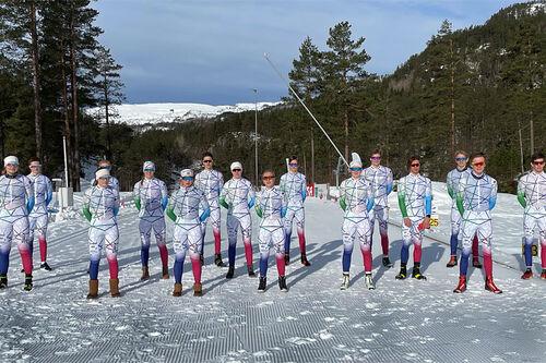 Utøvere fra Sirdal Ski. Foto: Thomas Åbø.