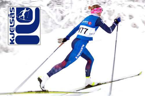 Skiløper fra Kjelsås IL langrenn. Klubbfoto.