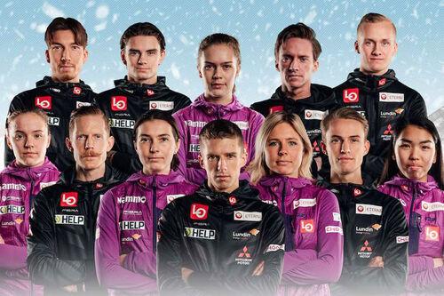 Norges hopplandslag 2021/2022. Foto: Norges Skiforbund.