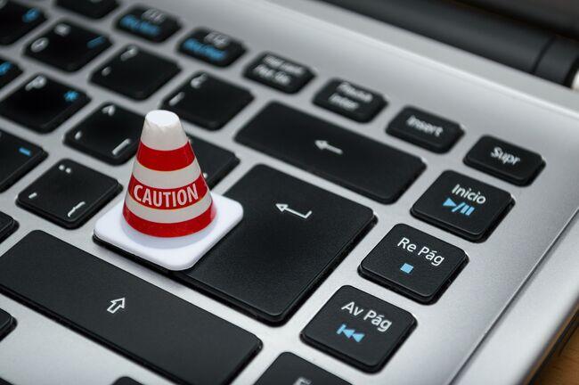 BIldet viser et tastatur til en pc
