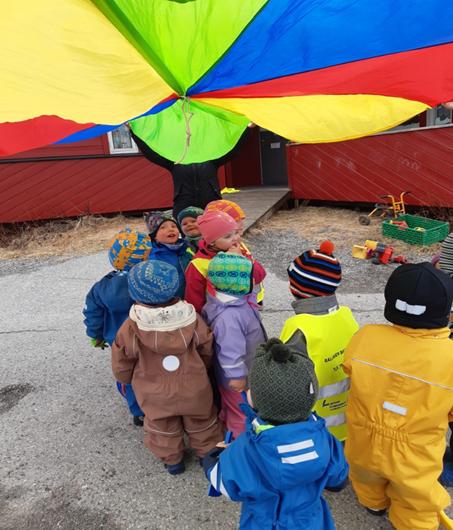 17. mai feiring i Rallaren barnehage