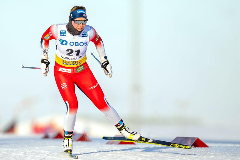 Julie Myhre. Foto: Thibaut/NordicFocus.