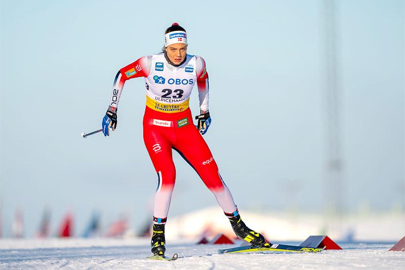 Kristine Stavås Skistad. Foto: Thibaut/NordicFocus.