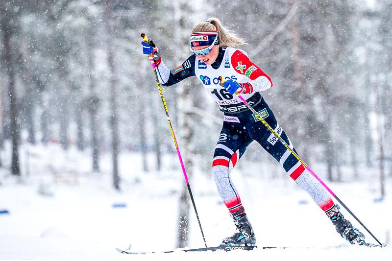 Marte Mæhlum Johansen. Foto: Modica/NordicFocus.