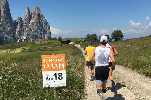 Seiser Alm Half Marathon. Foto: Geir Nilsen / Langrenn.com.