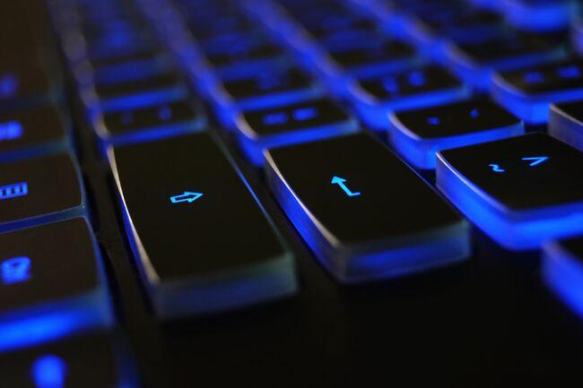Bildet viser nærbildet av et tastatur