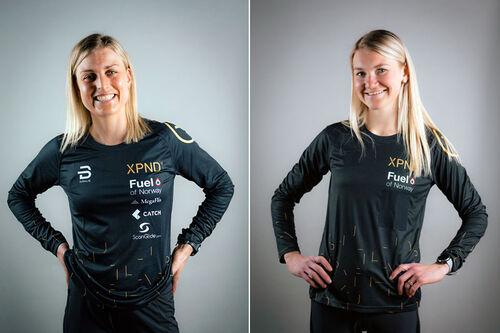 Barbro Sætha og Gina Flugstad Øien kommer nye inn i Team XPND. Foto: Wiild Photo.