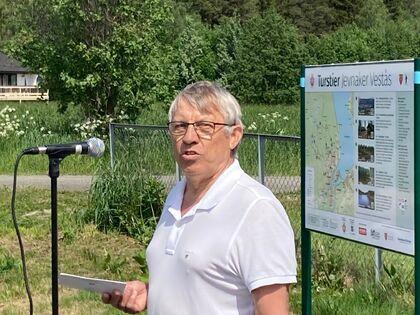 Harald Lillo Pedersen (JIF Alliance) ønsket velkommen