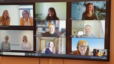 Bilde av deltakerne til prosjekt Helseintro