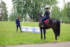 Norsk Hestesenter var en av fagskolene som inngikk i tilsynsrunden under NOKUT sitt første tilsynsprosjekt. Bildet er fra undervisning på ridelærerstudiet.