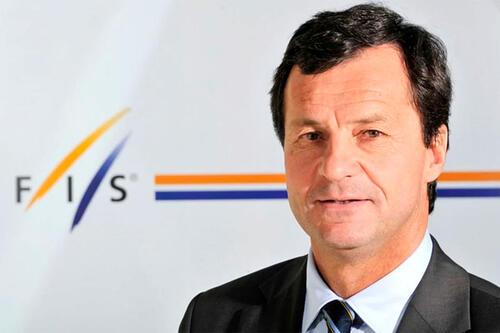 Michel Vion, generalsekretær i FIS. Foto: Det internasjonale skiforbundet, FIS.