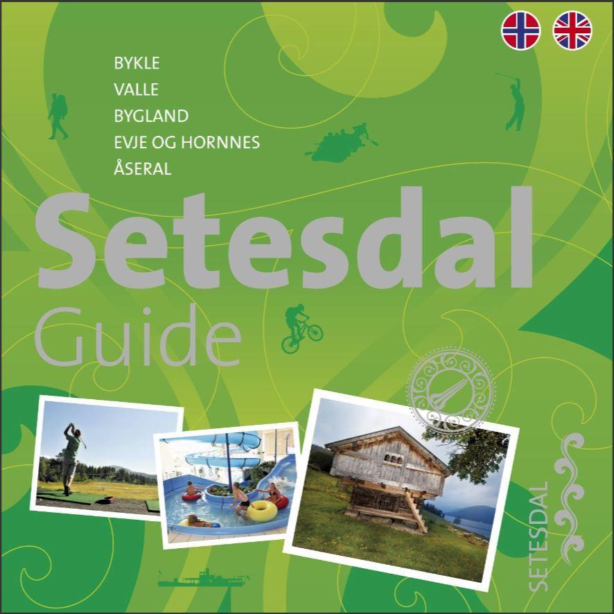 Forside Setesdal guide