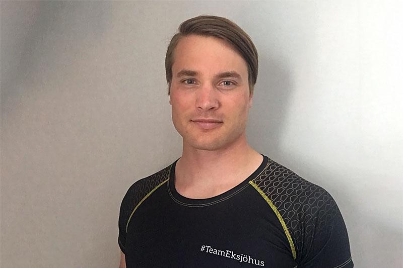 Fredrik Andrée er ansatt som smøresjef i Team Eksjöhus.