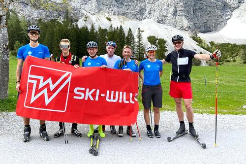 Ski-Willy Marathon Team Austria. Teamfoto.