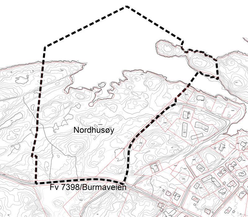 Kart til kunngjøring L-2108-A2-1500-kunngjøring